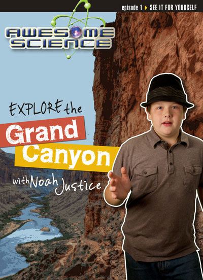 Explore the Grand Canyon with Noah Justice DVD