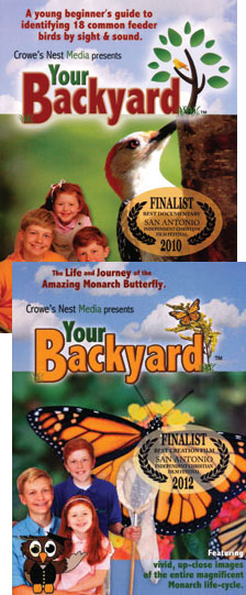 Your Backyard DVDs, Set of 2