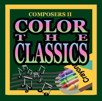 Color The Classics--Classical Composers II