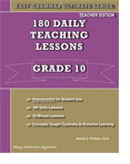 Easy Grammar 10 - 180 Daily Teaching Lessons