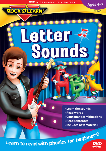 Letter Sounds Rock 'n Learn DVD