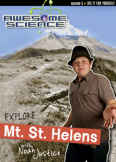 Explore Mount St. Helens with Noah Justice, DVD