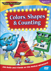 Colors, Shapes & Counting - DVD
