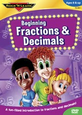 Beginning Fractions & Decimals - DVD