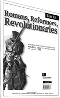 Romans, Reformers, Revolutionaries Testing Kit