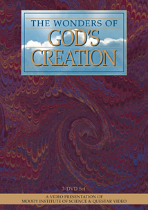 The Wonders of God's Creation, Moody Science (3 DVDs)