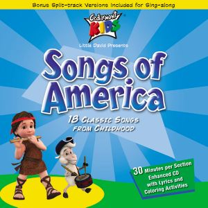 Songs of America - Cedarmont Kids DVD