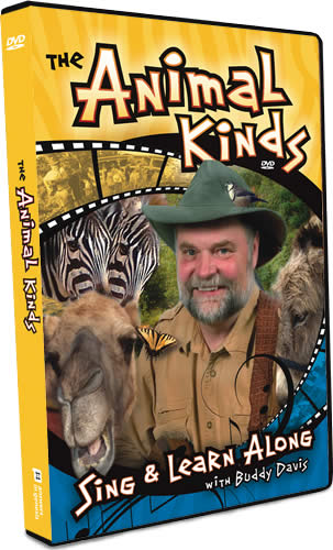 The Animal Kinds DVD by Buddy Davis
