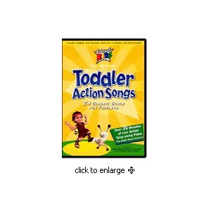 Toddler Action Songs - Cedarmont Kids DVD