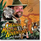 Creation Musical Adventures with Buddy Davis/ 2 CDs