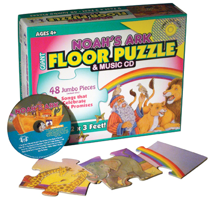 Noah's Ark Puzzle with music CD
