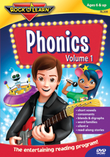 Phonics, Vol. 1 DVD