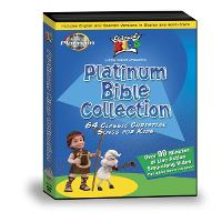Cedarmont Platinum Bible Collection (3 DVD set) Cedarmont Kids