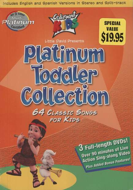 Cedarmont Platinum Toddler 3 DVD Collection