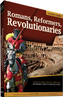 Romans, Reformers,  Revolutionaries  Teacher's Guide by Diana Waring
